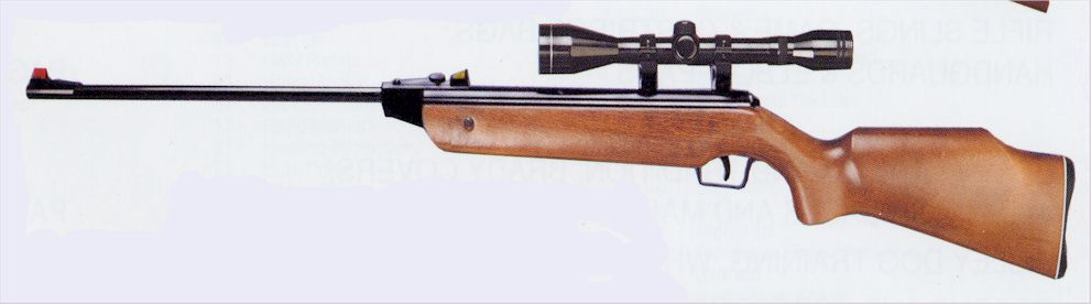 repeating air rifle